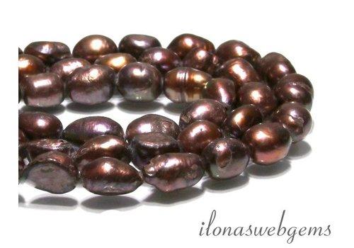 Baroque pearls app. 12x9mm