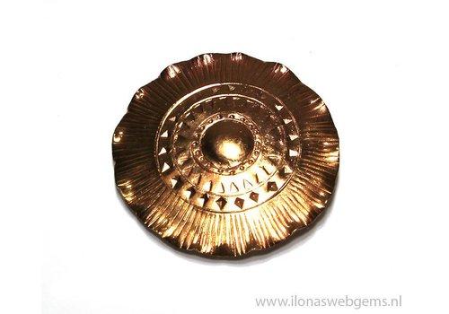 `Rose gold` Hill tribe Anhänger ca. 52mm