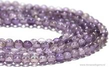 Amethyst Perlen rund ca. 4mm