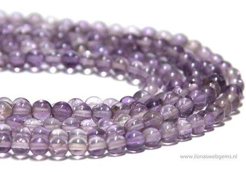 Amethyst beads round app. 4mm