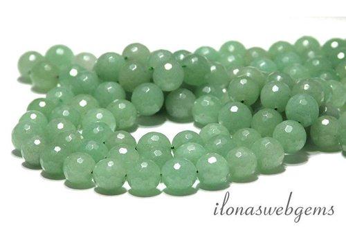 Aventurine beads facet round app. 14mm