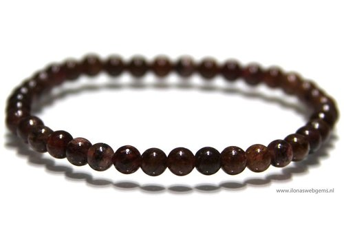 Jasper beads bracelet around 5.4mm