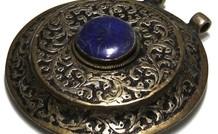 Traditionele Afghaanse hanger met Lapis lazuli