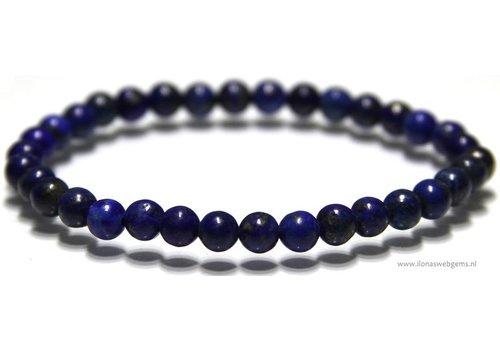 Lapis lazuli bead bracelet about 6mm
