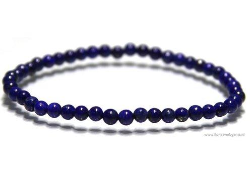 Lapis Lazuli beads bracelet app. 4/4.5mm
