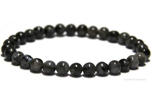 Larvikite bracelet app. 6.4mm