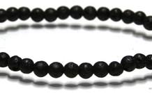 Lavasteen Perlen Armband ca. 4.6mm