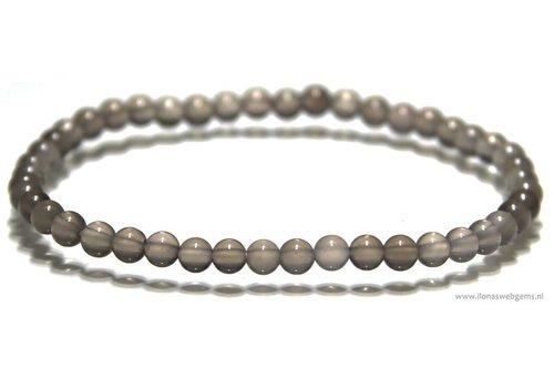 Maansteen kralen armband ca. 4.3mm