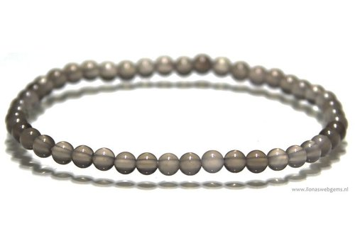 Moonstone beads bracelet approx 4.3mm