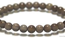 Mondstein Perlen Armband um 6,3 mm