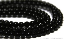 Obsidian Perlen ca. 4.2mm
