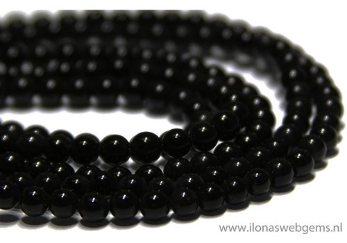 Obsidito beads app. 4.2mm