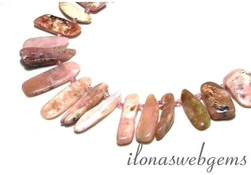 pink Opaal side drill 20x13x6-45x18x4mm