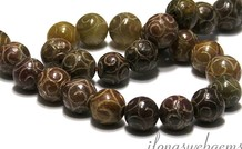 Jade Perlen rund ca. 15mm