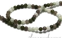 Jade Perlen rund ca. 4.5mm