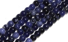Sodalith Perlen ca. 4.5mm/40cm