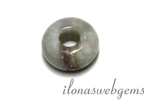 1 Turmalin  Perle pandora style ca. 14x7.5mm