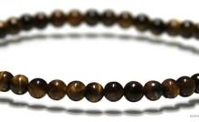 Tigeauge Perlen Armband ca. 4.8mm