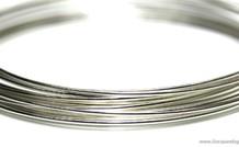 Sterling Silber-Draht-Standard. 0.7mm / 21GA