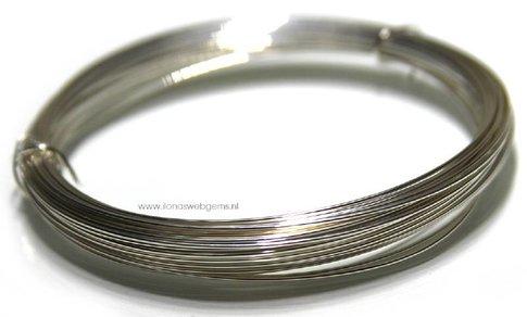 1/2 meter Silverfilled Draht ca. 1mm / 18 gauge half hard (Dr4g)