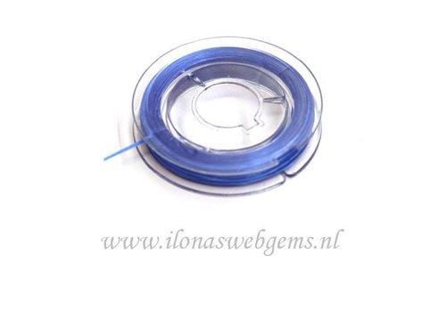 Sterk elastiek blauw