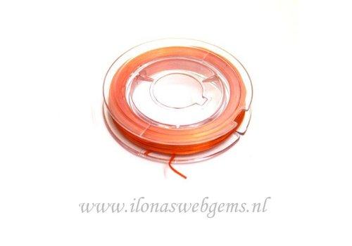 Sterk elastiek oranje