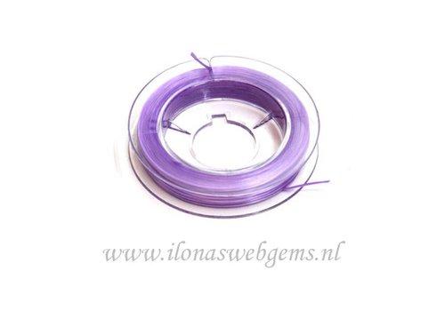 Sterk elastiek lila