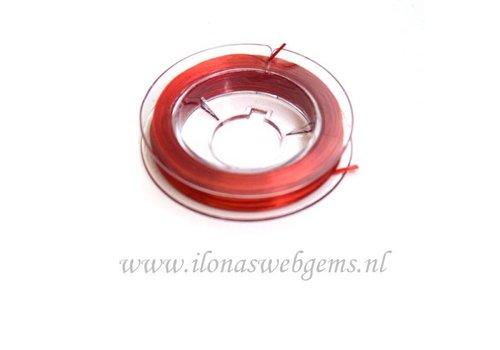 Sterk elastiek rood