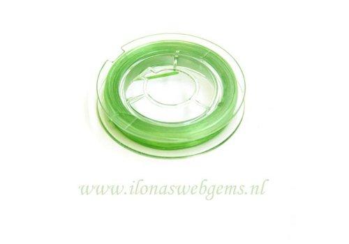 Oersterk elastiek licht groen