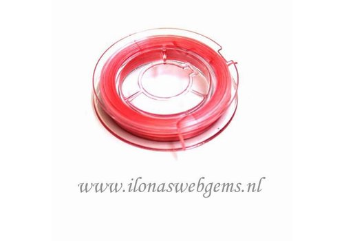 Sterk elastiek zacht roze