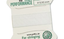Griffin High Performance 2m 2 Nadeln NO 3 Weiss¸ - NO 3 0.50 mm