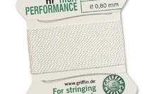Griffin High Performance 2m 2 Nadeln NO 8 Weiss¸ - NO 8  0.80 mm