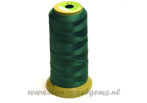 great rol rijgdraad dark green