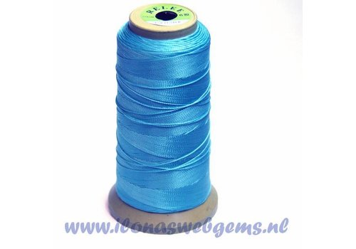great rol rijgdraad light blue