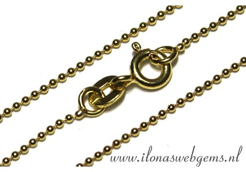 Vermeil ball chain/Ketten