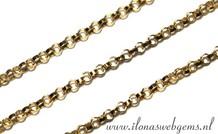 10cm Goldfilled Jasseron Kettenglieder / Ketten