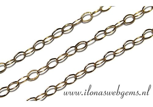 10cm Goldfilled links / necklace approx. 2.2mm