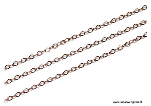1 cm Rose Goldfilled links / chain