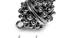 Sterling zilveren magneetslot
