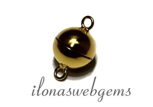 Vermeil Magnetverschlusse ca.10mm