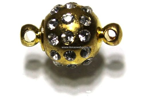 Magneetslotje goudkleur
