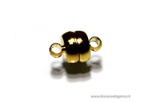 Gold Plated magnetclasp app. 11x7mm