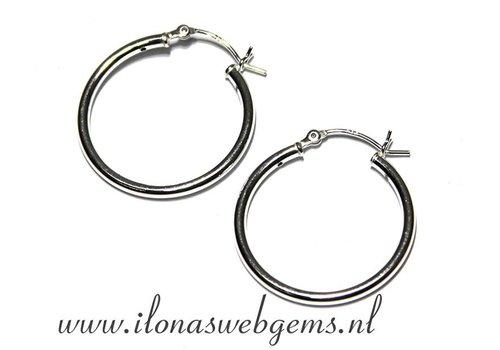 1 pair Sterling Silver creolen
