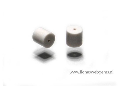 1 Poussette / Weiß Silikon stoppertje