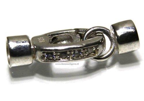 Sterling zilveren klemslotje