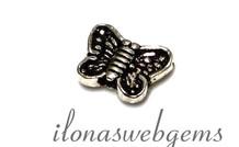 1 925/000 Silber vlinder ca. 10x7x2.8mm