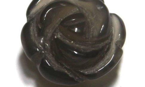 1 Achat Rose ca. 14x11 mm