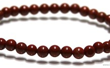 Jaspis Perlen Armband ca. 4.9mm