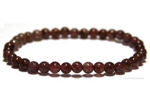 Strawberry quartz bracelet app. 5.4mm