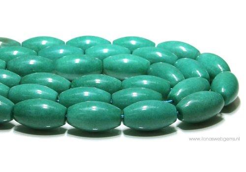 Jade kralen  ca. 31x18mm